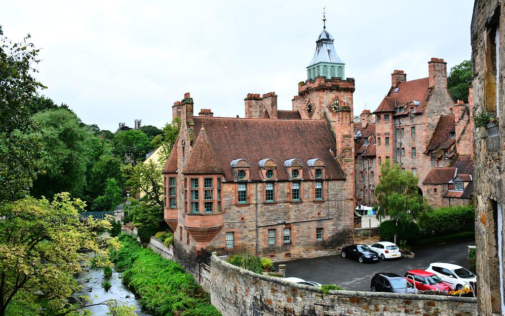 Well Court, Dean Village, Edinburgh