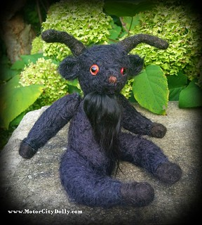 Mohair Monster Black Phillip