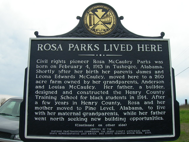 Rosa Parks Home (front)