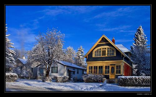 snow canada calgary ef50mmf14 alberta hdr winterlandscape primelens southcalgary artizenhdr canonrebelxti400d michaellogatoc