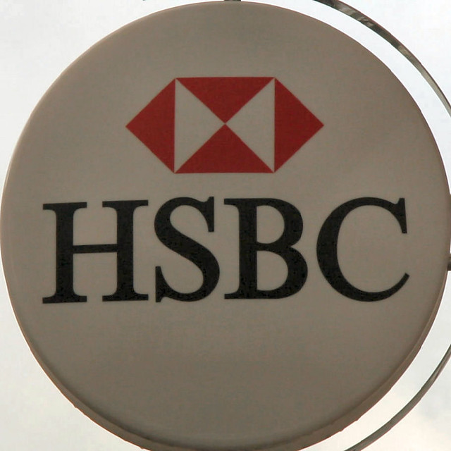 HSBC bank sign | Brian Snelson | Flickr