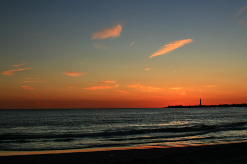 sunset sky lighthouse beach colors nj capemaypoint capemay thefort thecove capemaycounty wowiekazowie
