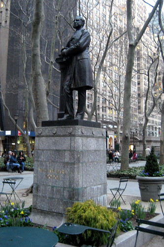 NYC - Bryant Park - William Earl Dodge statue | by wallyg