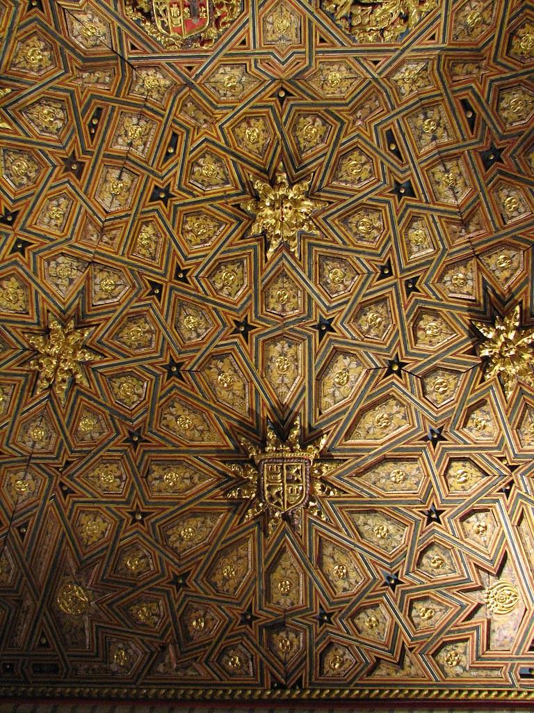 Antonio La Sala.San Antonio El Real Artesonado De La Sala Capitular 4 Flickr