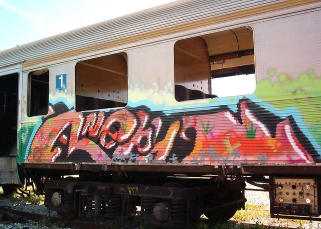 Train in Bobadela