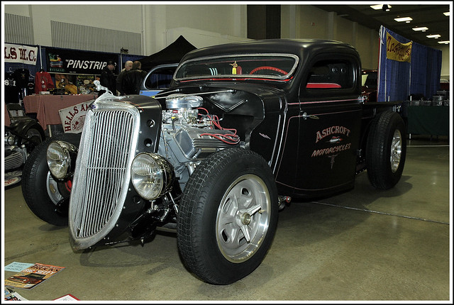 Ashcroft Motorcycles 1936 Ford Pickup
