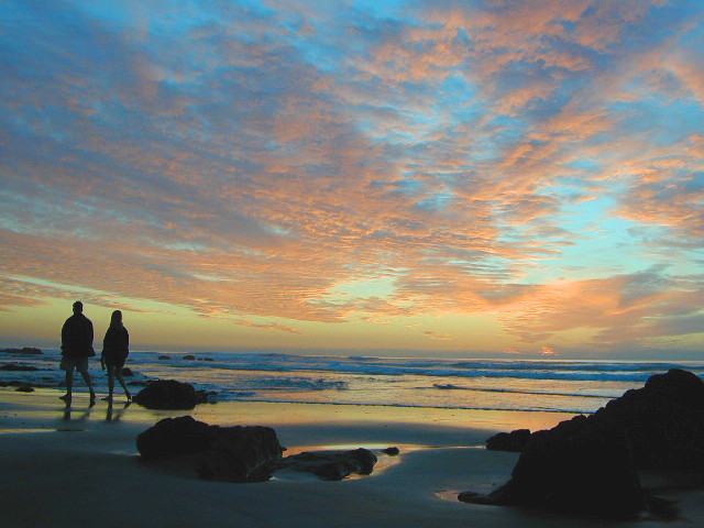 The Sunset Baja Couple