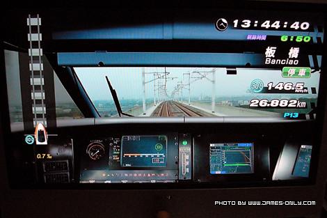 體驗駕駛台灣高鐵 700T 型列車