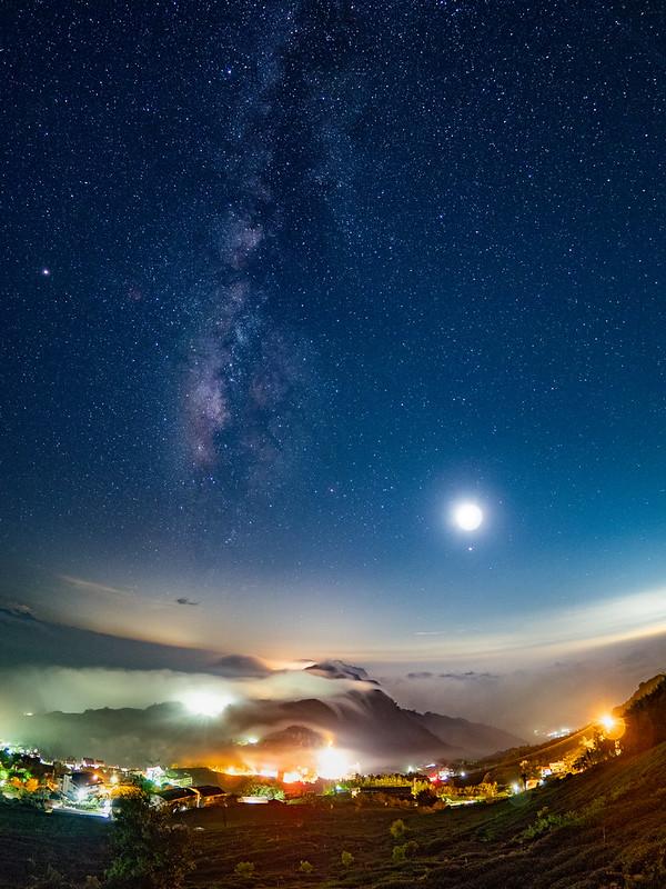 月光銀河琉璃雲海|頂石棹