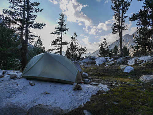 Camp 1 at about 10,200ft above Vidette Meadows | by snackronym