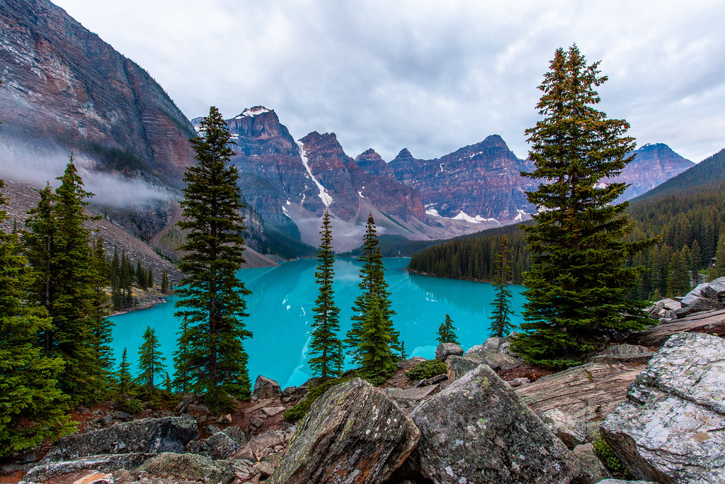 Moraine Lake Banff National Park Alberta Canada Flickr