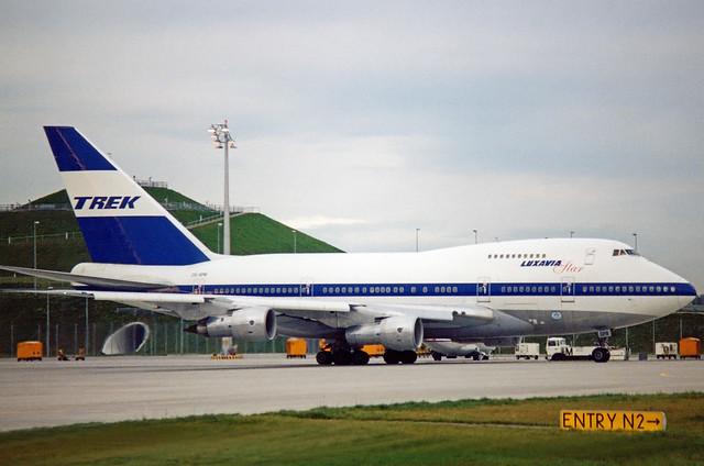 Trek Airways Boeing 747SP ZS-SPB