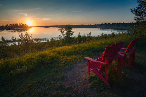 Share the chair sunset | by `James Wheeler