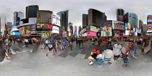 VR 360 Time Square.