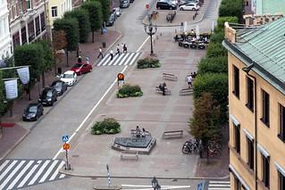 Center of Helsingborg, Sweden
