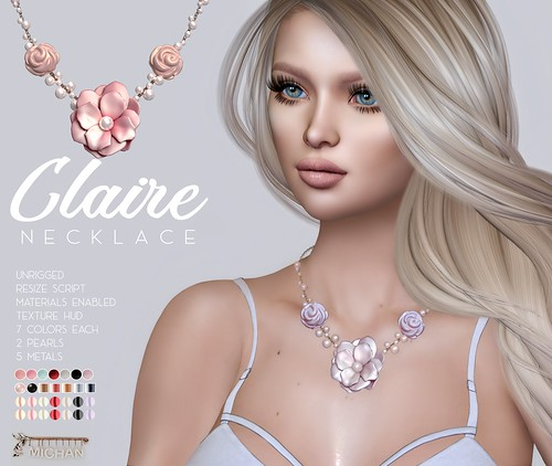 Claire Necklace @ Shiny Shabby