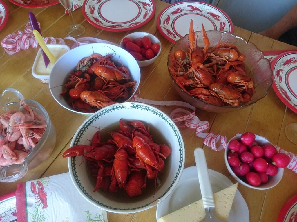 Crayfish party (Explored)