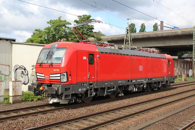 DBC 193 327 at Hamburg-Harburg 21 august 2018