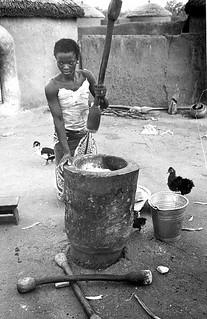 Food preparation Ghana