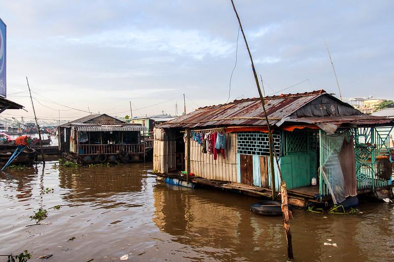 Floating Market Mekong Delta Can Tho Vietnam Tuyen Chau