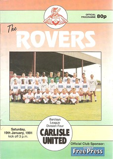 Doncaster Rovers V Carlisle United 19-1-91 | by cumbriangroundhopper