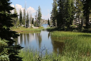0882 We get our first view of Middle Velma Lake where the Velma Lakes Trail intersects the PCT | by _JFR_