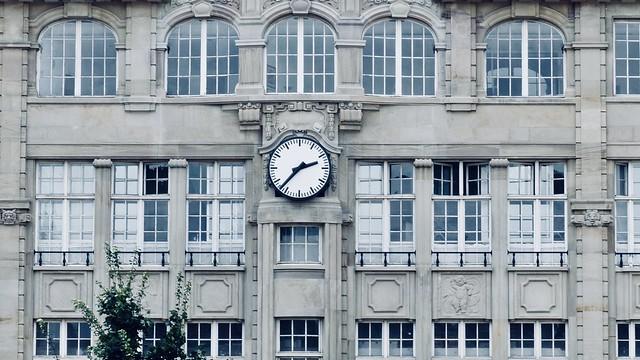 Place Kléber Clock in Strasbourg, France