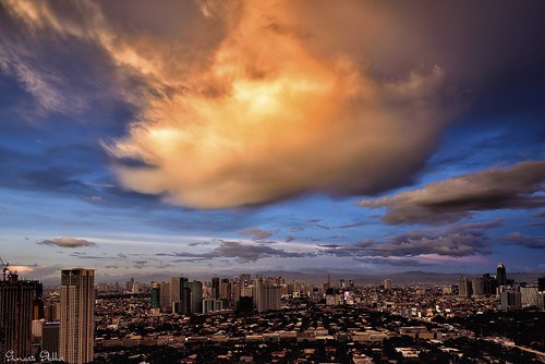 cityscape city sunset clouds cloudy buildings sumarieslabber skies sky evening