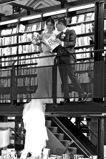 Bruidspaar / Boekhandel Dominicanen / Maastricht