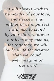 Love Quotes for wedding : I promise that we will always be ...
