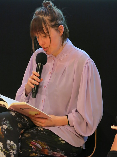 Annaleese Jochems at The Body Issue: WORD Christchurch Festival 2018