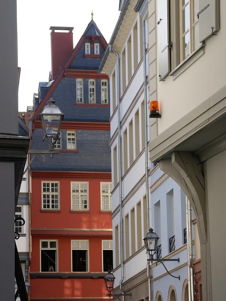 Frankfurt, Markt, Rotes Haus (Red House) | Das Rote Haus