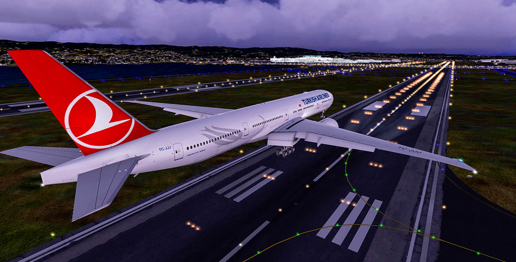 FSX | PMDG Boeing 777-300ER Turkish Airlines | (KLAX) Los An