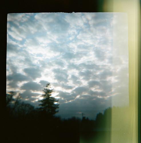 film diana 120 stellar youngstown ohio oh sky clouds lightleaks 2017