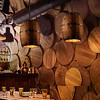 Wood Wine Barrel Bar Farmhouse Pendant Ceiling Light