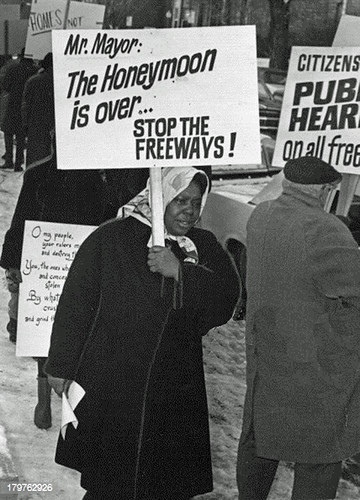 Freeway opponents picket mayor's home: 1968 | by Washington Area Spark