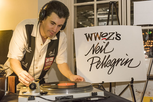 Neil Pellegrin at the WWOZ Groove Gala on September 6, 2018. Photo by Ryan Hodgson-Rigsbee www.rhrPhoto.com