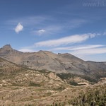 Bearhead Mountain and Dancing Lady from Firebrand Pass Trail