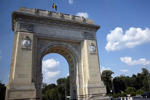 2018 bucarest rumanía românia valaquia arco monumento europa europe europeanunion