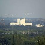 Von der Schurenbachhalde aus kann man bei guten Witterungsverhältnissen bis nach Bochum schauen