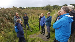 IRWC visits Pollardstown Fen, Sep 2018 | by Irish Ramsar Wetlands