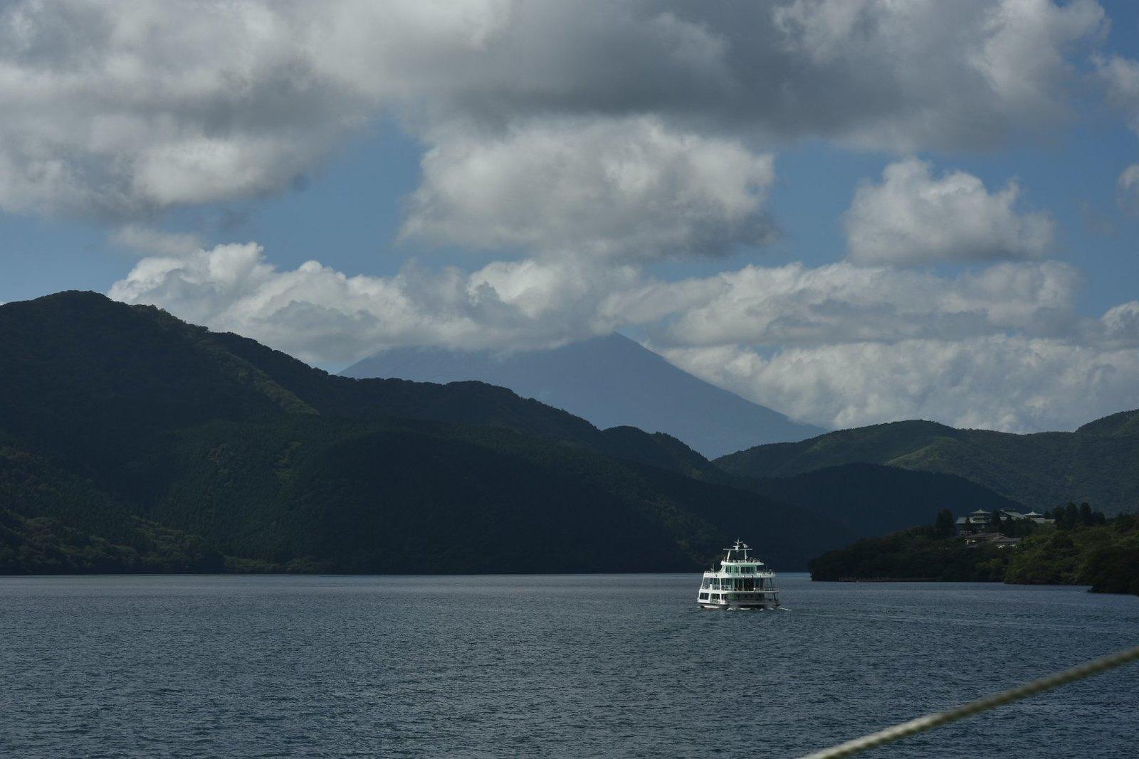 Hakone - vue sur le mont Fuji