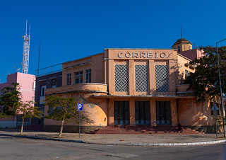 Old portuguese colonial post office, Benguela Province, Lobito, Angola   by Eric Lafforgue
