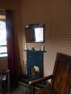 Toll House - Conwy Suspension Bridge - The Parlour - fireplace
