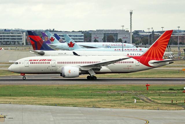 VT-ANI 2 Boeing 787-8 Air India LHR 09SEP19