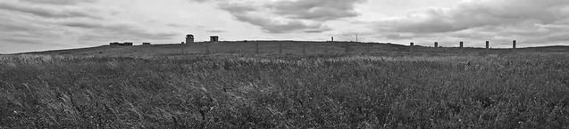 RAF Bempton CHL Radar Station - Mono.
