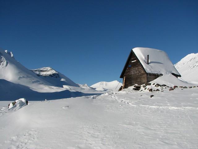 Tour de Kebnekaise, sneeuwschoen huttentocht