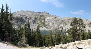 0519 Clyde Lake with Mount Price on the left from the Rubicon Trail   by _JFR_