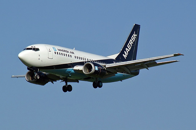 Maersk Air Boeing 737-5L9 OY-APH