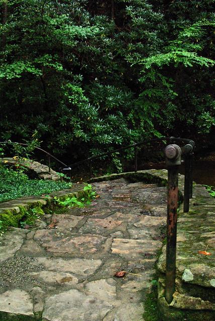 Civilian Conservation Corps Stone Steps